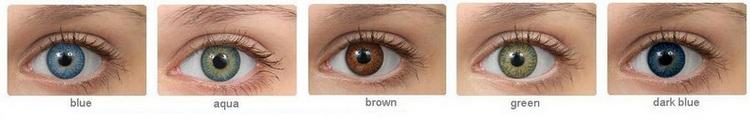 купить цветные контактные линзы Biomedics Colors Premium