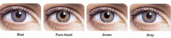 цветные однодневные контактные линзы FreshLook Color One Day